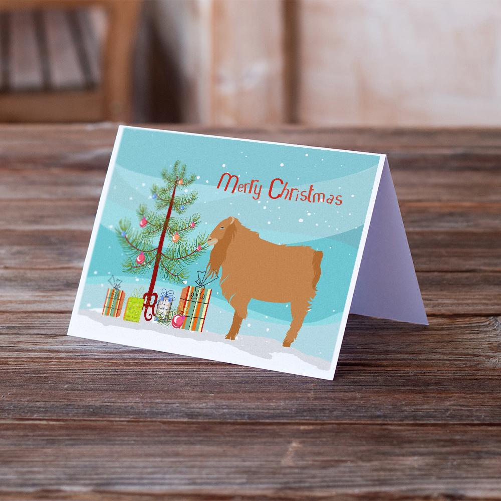 Buy this American Lamancha Goat Christmas Greeting Cards and Envelopes Pack of 8