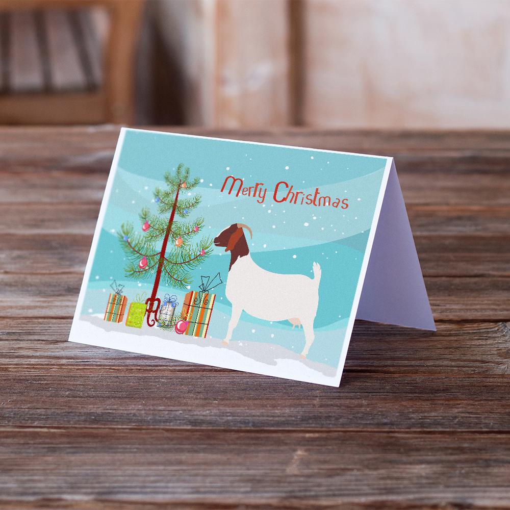 Buy this Boer Goat Christmas Greeting Cards and Envelopes Pack of 8