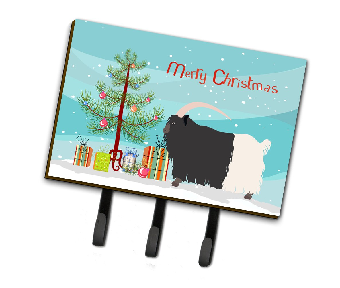Welsh Black-Necked Goat Christmas Leash or Key Holder BB9254TH68 by Caroline's Treasures