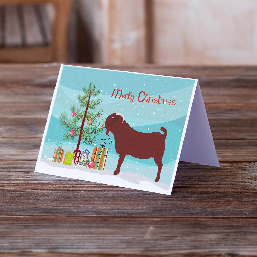 Buy this Kalahari Red Goat Christmas Greeting Cards and Envelopes Pack of 8