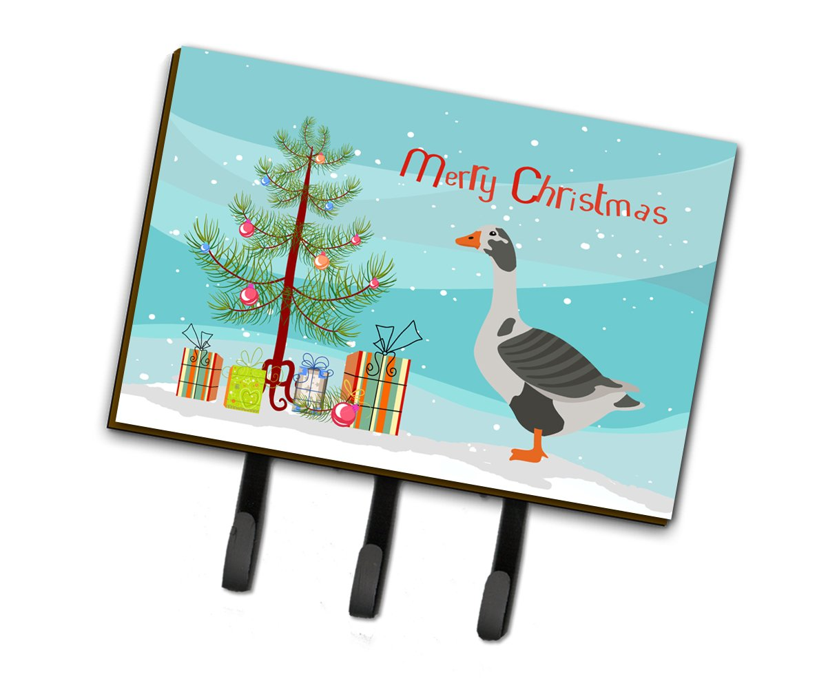 West of England Goose Christmas Leash or Key Holder BB9262TH68 by Caroline's Treasures
