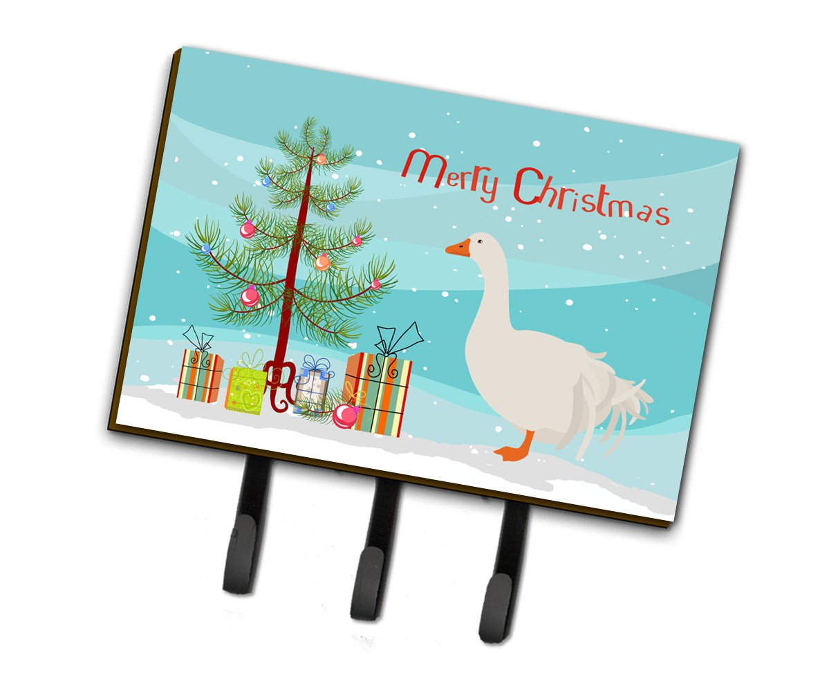Sebastopol Goose Christmas Leash or Key Holder BB9269TH68 by Caroline's Treasures