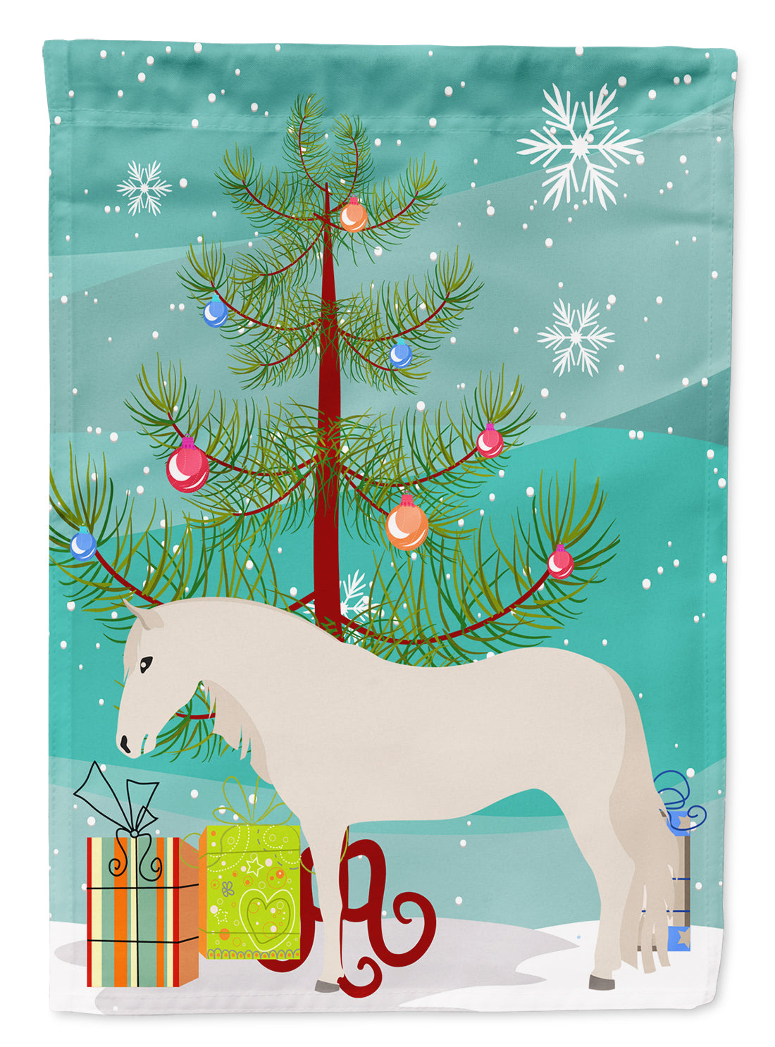 Buy this Paso Fino Horse Christmas Flag Garden Size BB9272GF