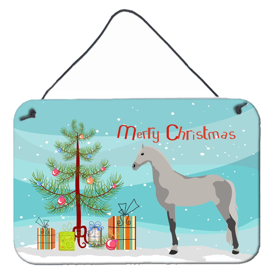 Buy this Orlov Trotter Horse Christmas Wall or Door Hanging Prints BB9275DS812