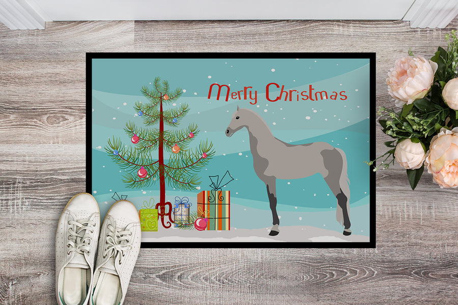 Buy this Orlov Trotter Horse Christmas Indoor or Outdoor Mat 18x27 BB9275MAT