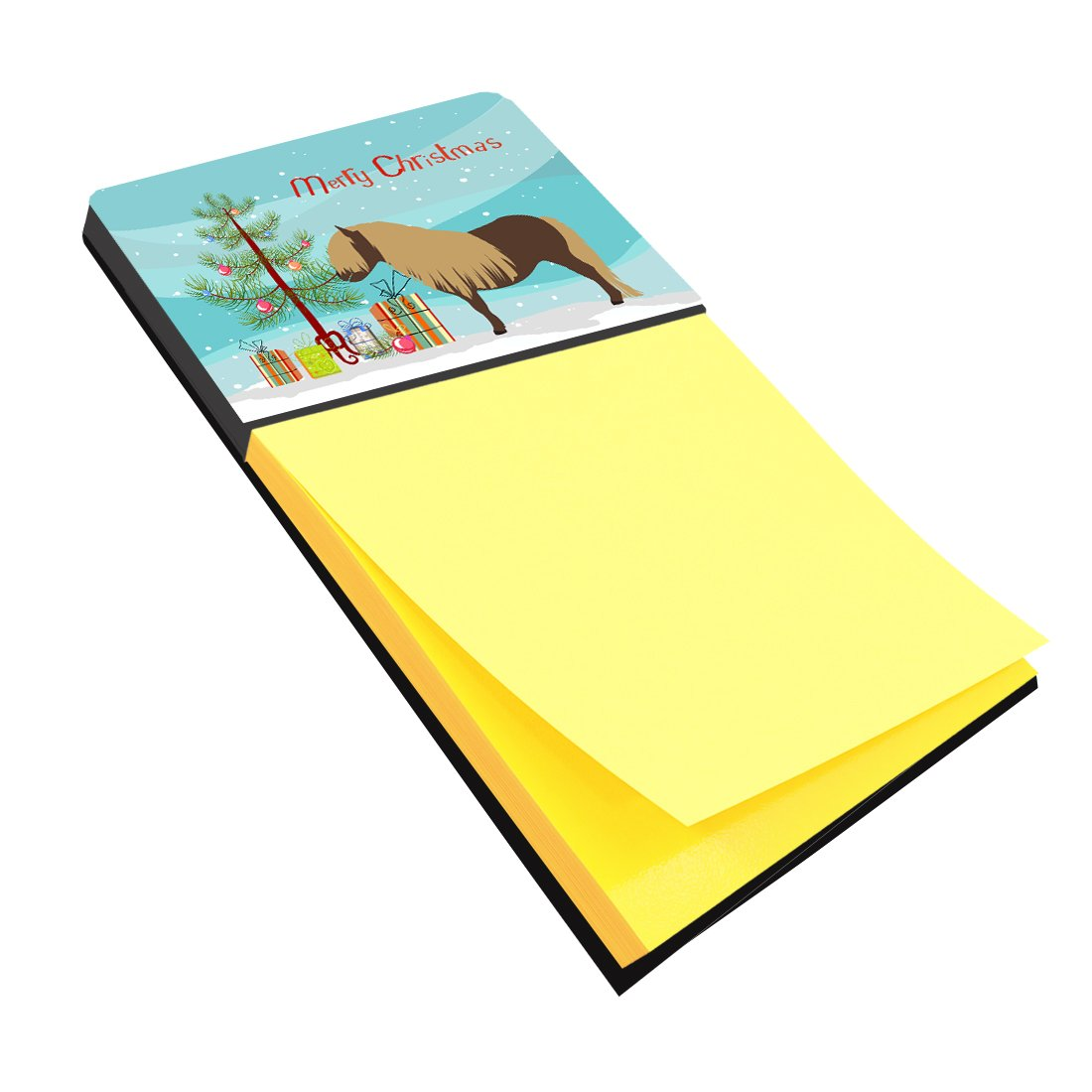 Shetland Pony Horse Christmas Sticky Note Holder BB9281SN by Caroline's Treasures