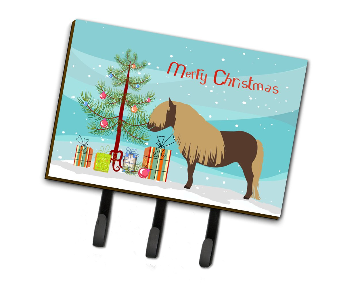 Shetland Pony Horse Christmas Leash or Key Holder BB9281TH68 by Caroline's Treasures