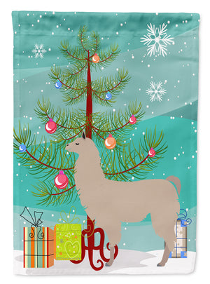 Buy this Llama Christmas Flag Canvas House Size BB9283CHF
