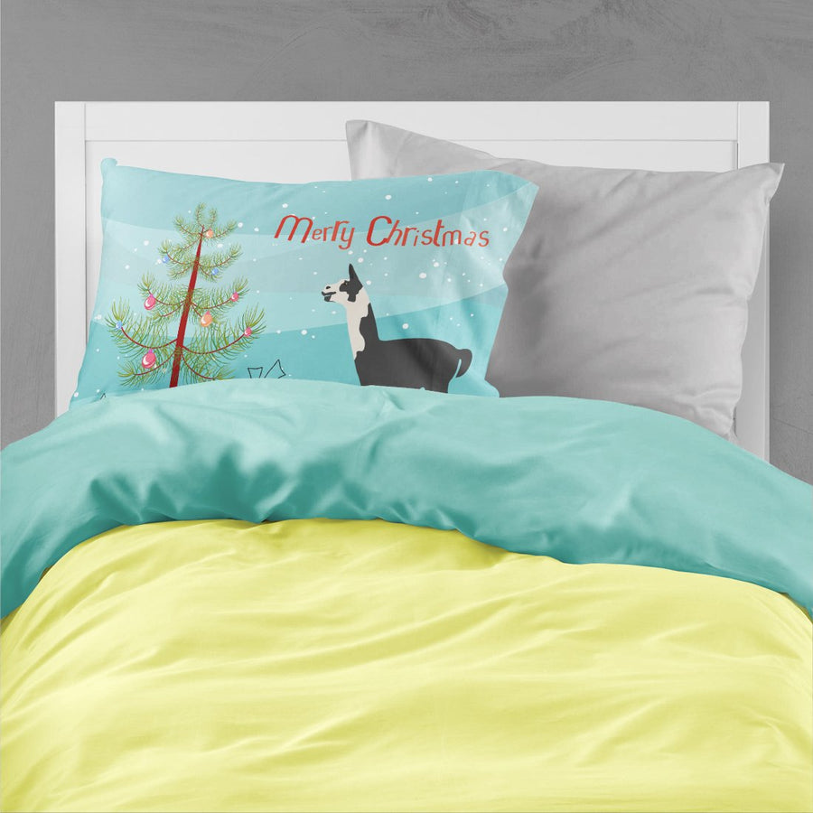 Buy this Llama Q' Ara Christmas Fabric Standard Pillowcase BB9285PILLOWCASE