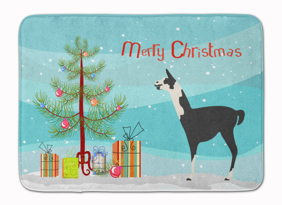 Buy this Llama Q' Ara Christmas Machine Washable Memory Foam Mat BB9285RUG