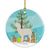 Buy this Alpaca Christmas Ceramic Ornament BB9286CO1