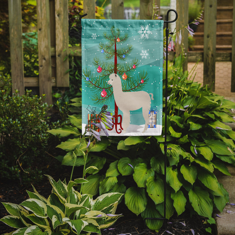 Buy this Alpaca Christmas Flag Garden Size BB9286GF