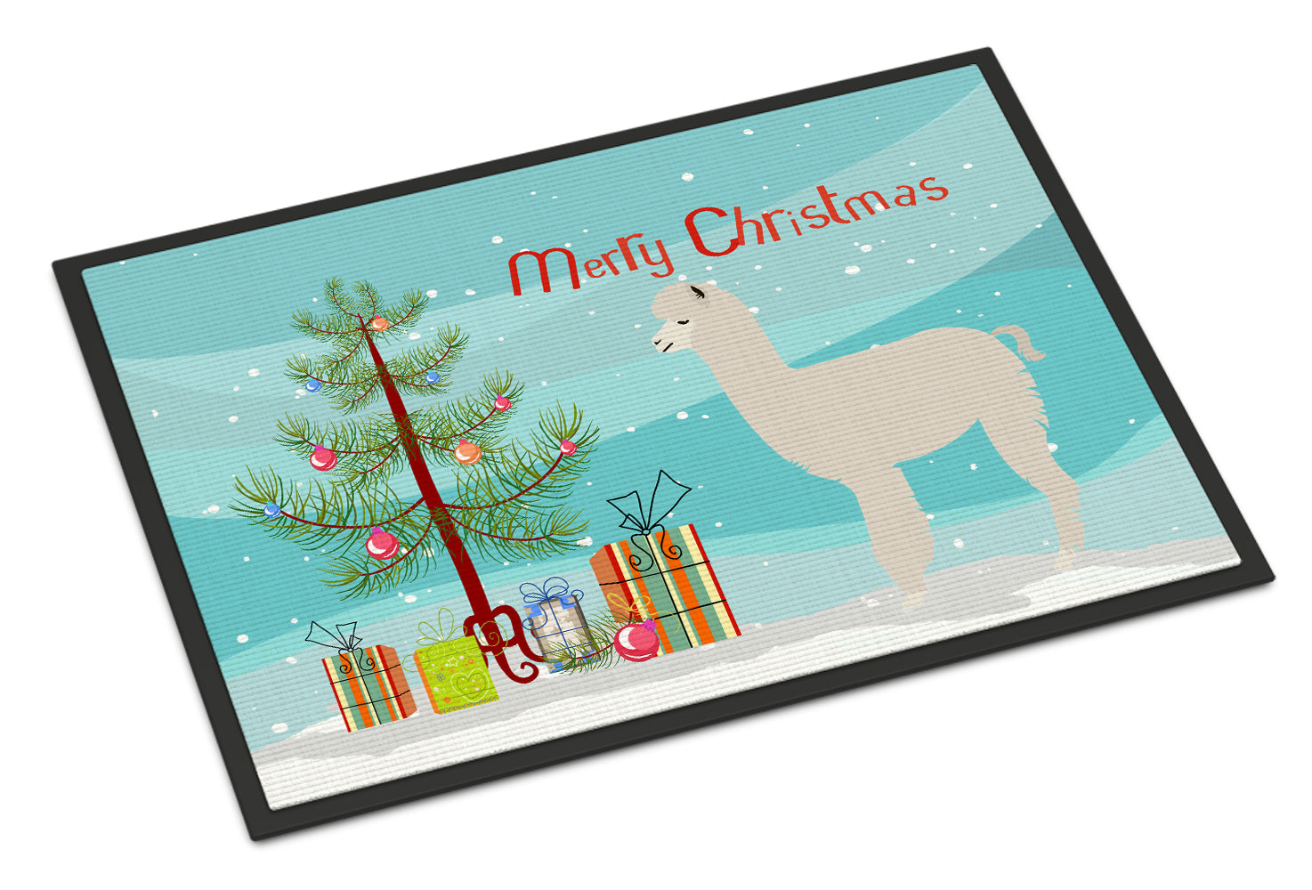 Buy this Alpaca Christmas Indoor or Outdoor Mat 18x27 BB9286MAT