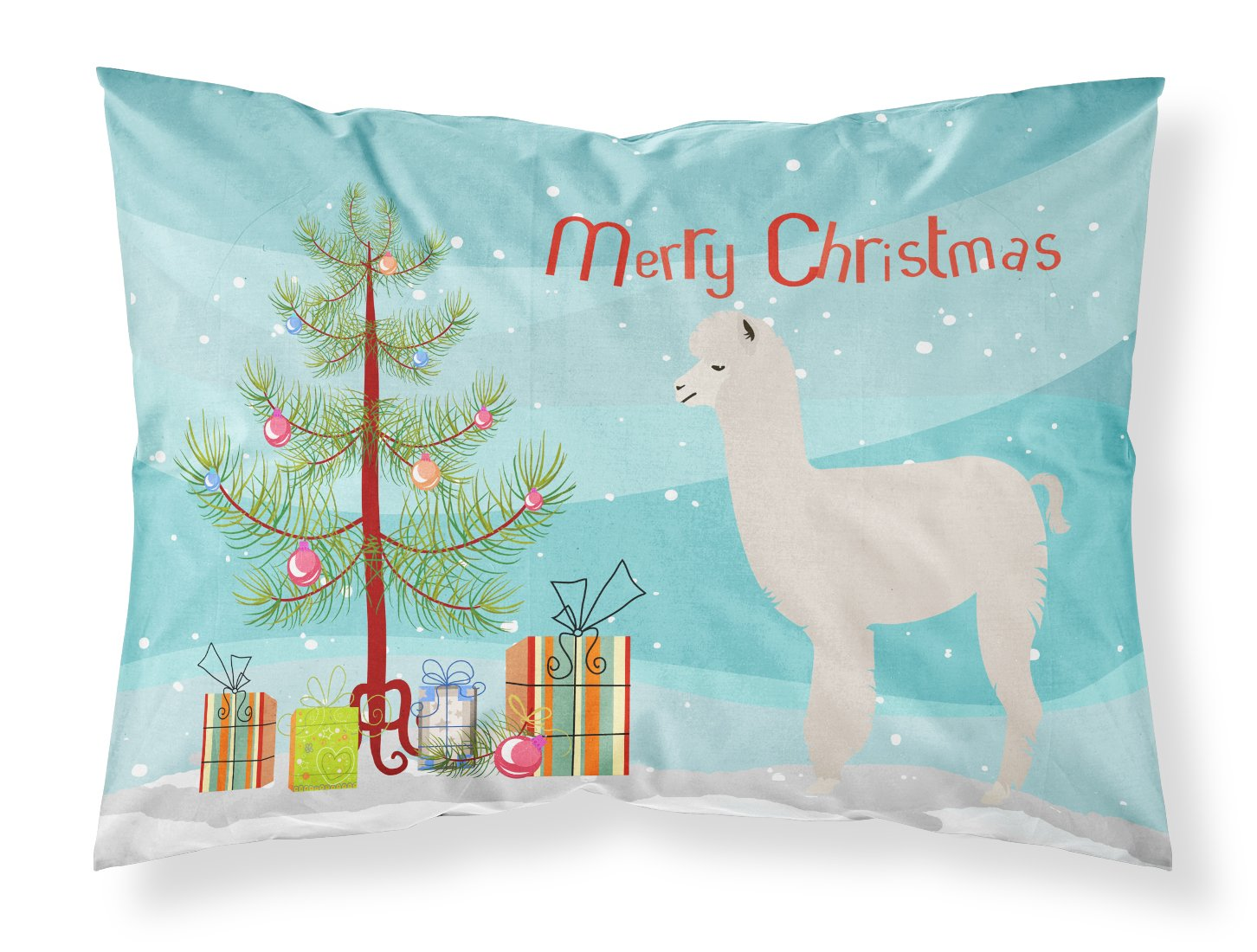 Buy this Alpaca Christmas Fabric Standard Pillowcase BB9286PILLOWCASE