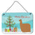 Buy this Alpaca Suri Christmas Wall or Door Hanging Prints BB9287DS812
