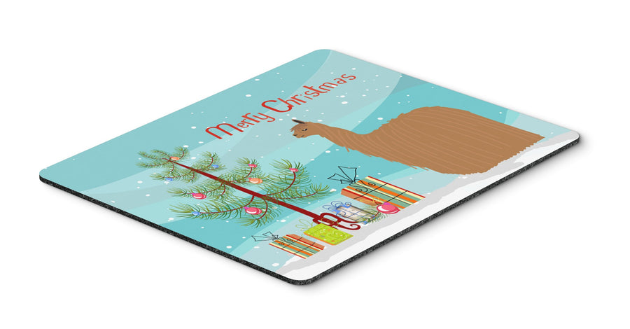 Buy this Alpaca Suri Christmas Mouse Pad, Hot Pad or Trivet BB9287MP