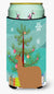 Buy this Alpaca Suri Christmas Tall Boy Beverage Insulator Hugger BB9287TBC