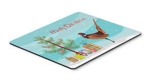 Buy this Ring-necked Common Pheasant Christmas Mouse Pad, Hot Pad or Trivet BB9297MP