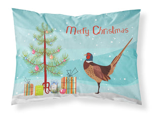 Buy this Ring-necked Common Pheasant Christmas Fabric Standard Pillowcase BB9297PILLOWCASE