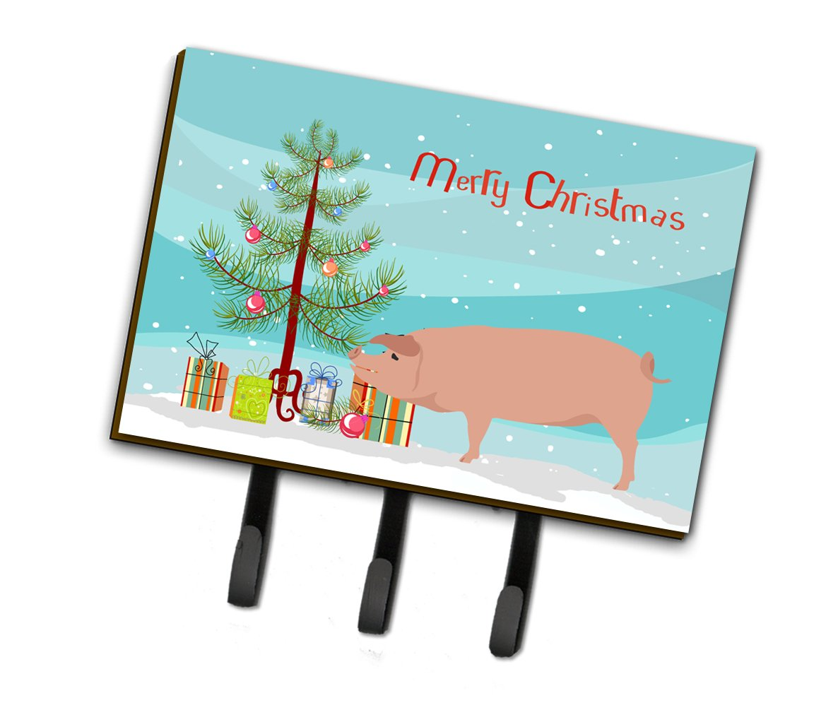 American Landrace Pig Christmas Leash or Key Holder BB9299TH68 by Caroline's Treasures