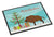 Buy this Wild Boar Pig Christmas Indoor or Outdoor Mat 18x27 BB9303MAT