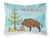 Buy this Wild Boar Pig Christmas Fabric Standard Pillowcase BB9303PILLOWCASE