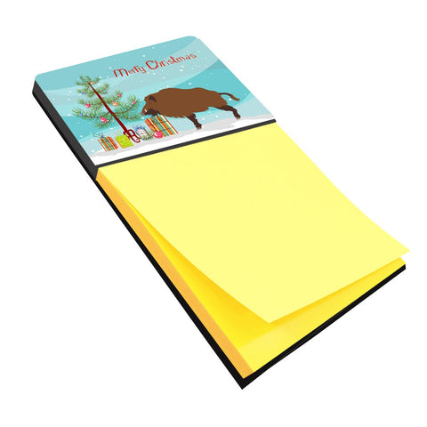 Buy this Wild Boar Pig Christmas Sticky Note Holder BB9303SN