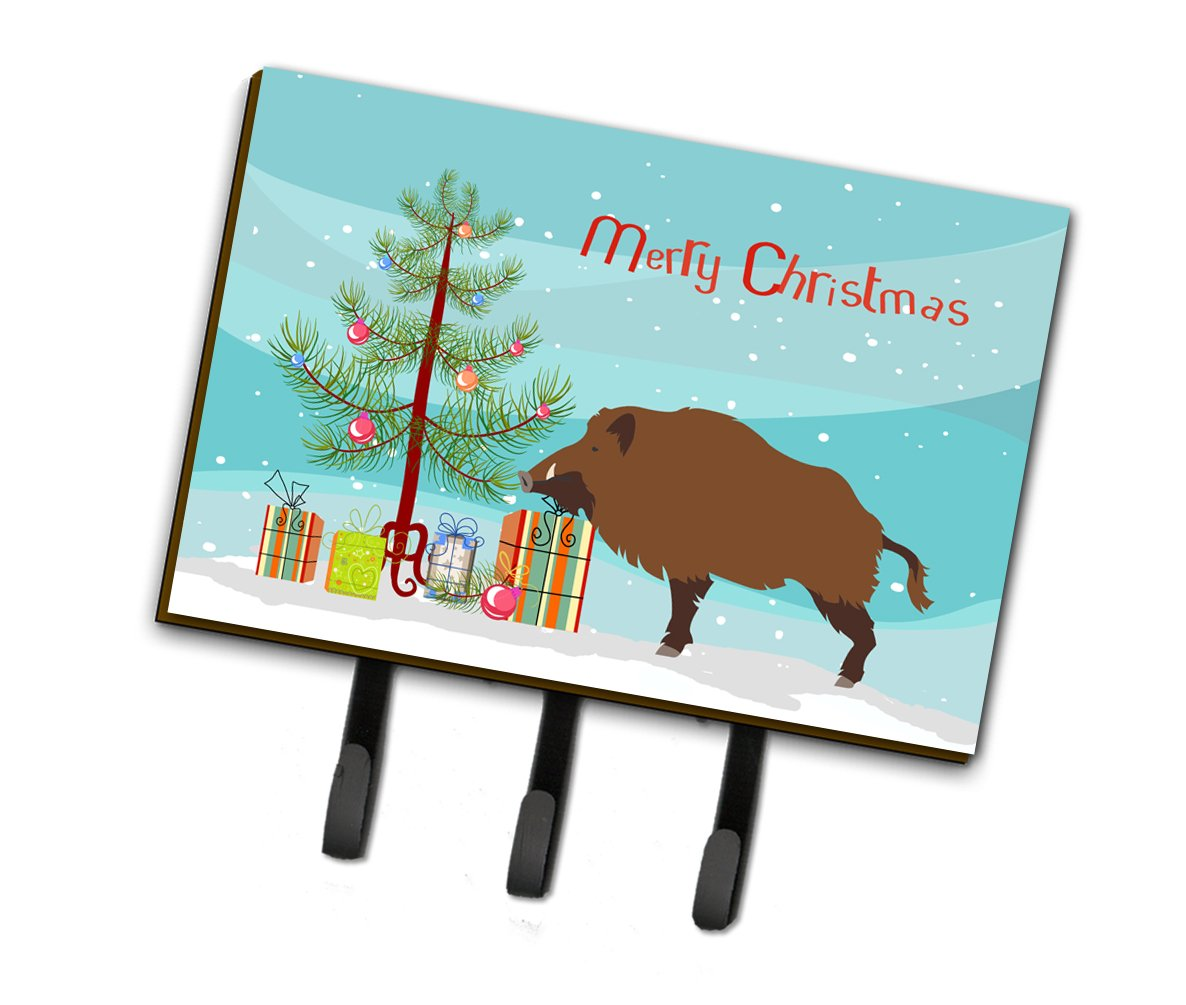Buy this Wild Boar Pig Christmas Leash or Key Holder BB9303TH68