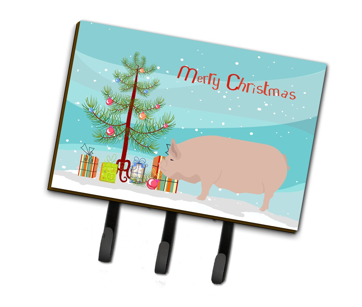 Welsh Pig Christmas Leash or Key Holder BB9304TH68 by Caroline's Treasures