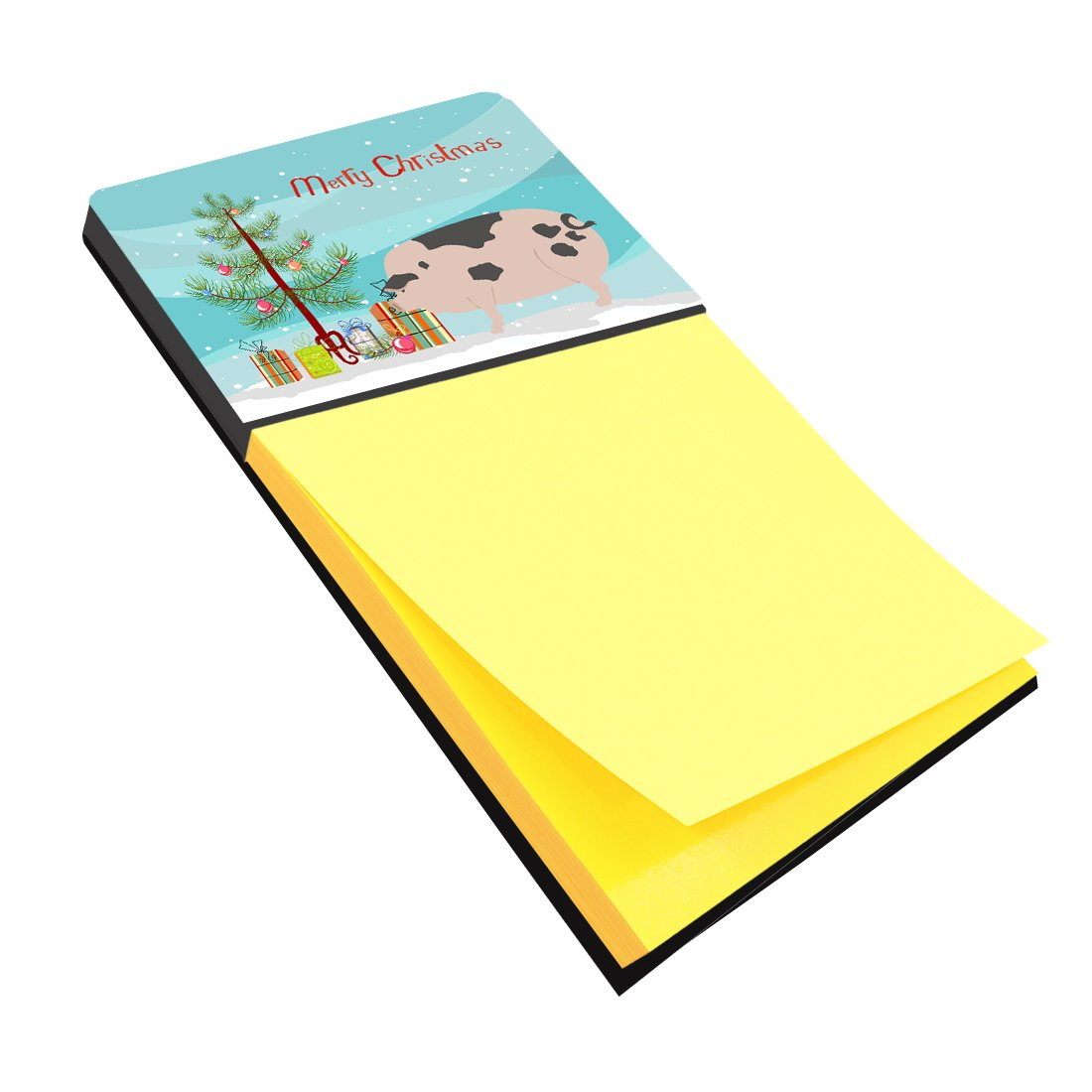 Gloucester Old Spot Pig Christmas Sticky Note Holder BB9307SN by Caroline's Treasures