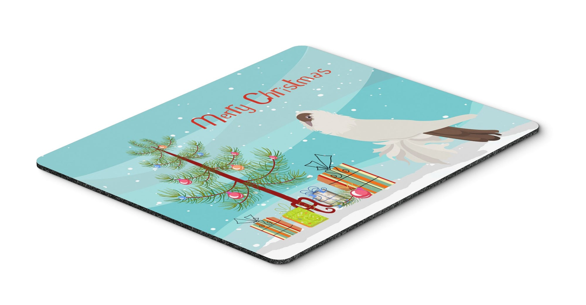 German Helmet Pigeon Christmas Mouse Pad, Hot Pad or Trivet BB9311MP by Caroline's Treasures