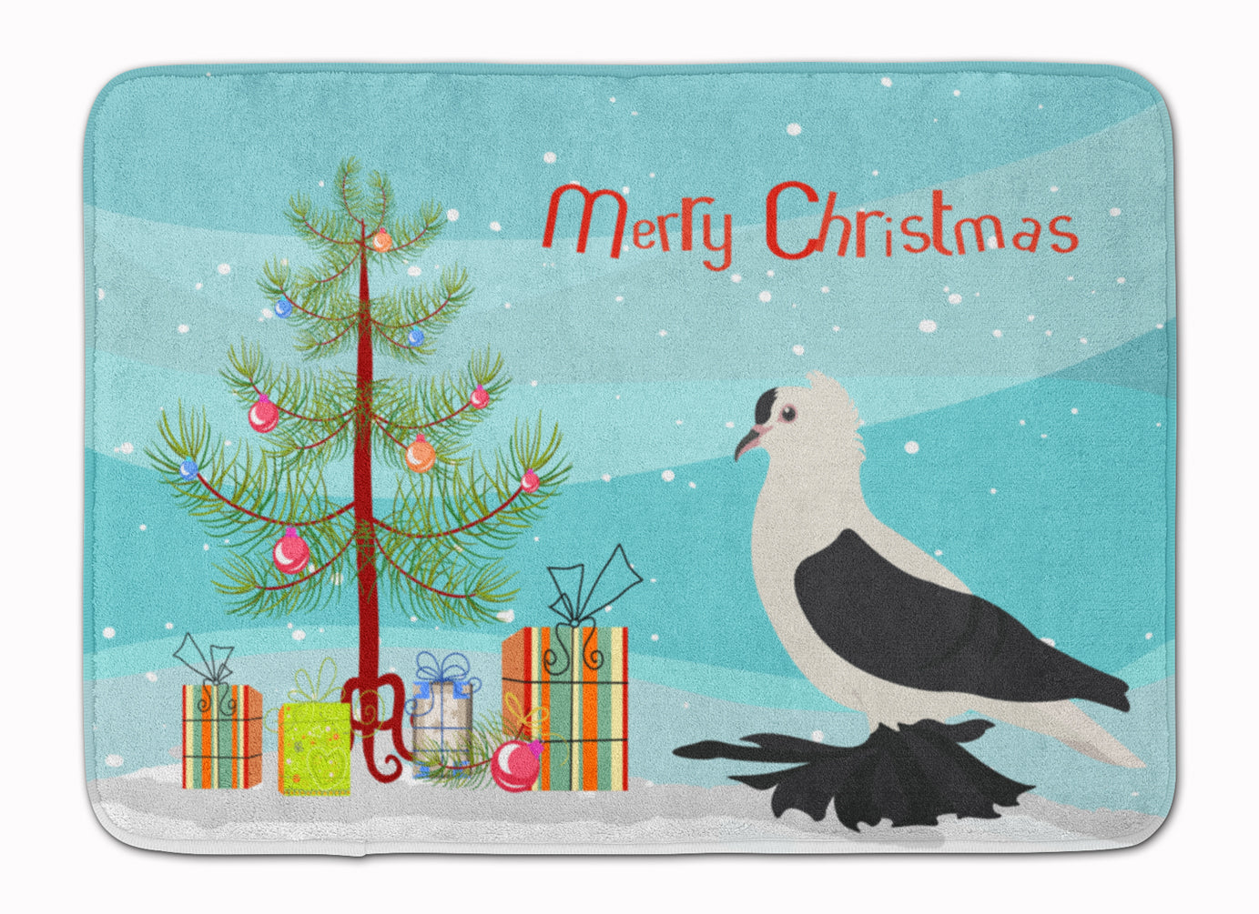 Saxon Fairy Swallow Pigeon Christmas Machine Washable Memory Foam Mat BB9313RUG by Caroline's Treasures