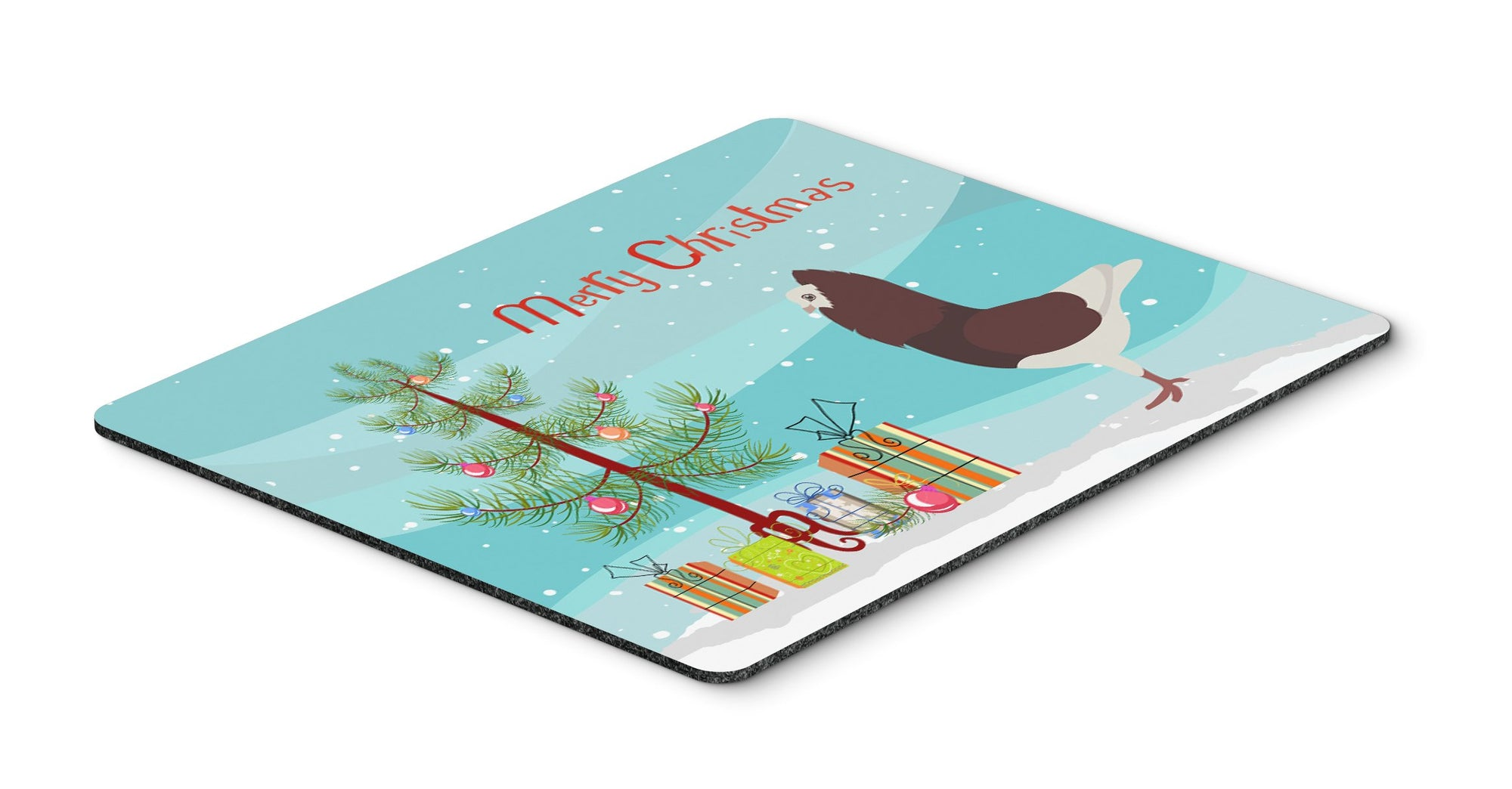 Capuchin Red Pigeon Christmas Mouse Pad, Hot Pad or Trivet BB9315MP by Caroline's Treasures