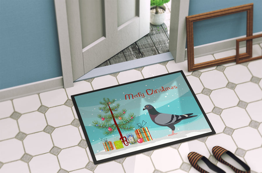 Buy this Racing Pigeon Christmas Indoor or Outdoor Mat 24x36 BB9318JMAT
