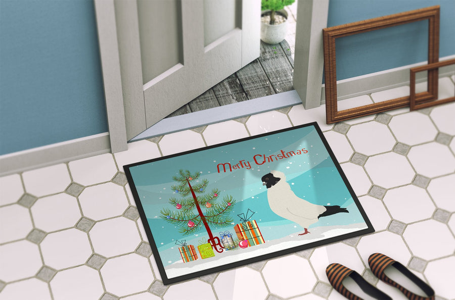Buy this Nun Pigeon Christmas Indoor or Outdoor Mat 24x36 BB9319JMAT