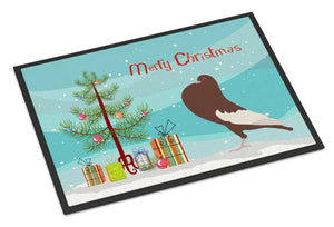 Buy this English Pouter Pigeon Christmas Indoor or Outdoor Mat 24x36 BB9321JMAT
