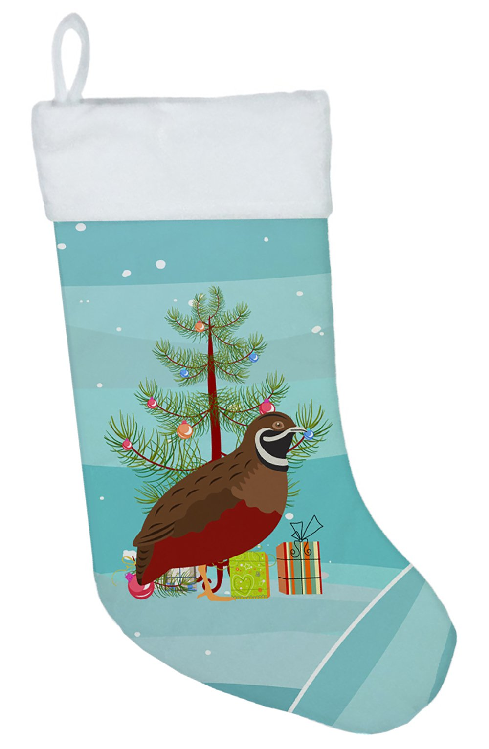 Chinese Painted or King Quail Christmas Christmas Stocking BB9323CS by Caroline's Treasures
