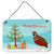 Buy this Chinese Painted or King Quail Christmas Wall or Door Hanging Prints BB9323DS812