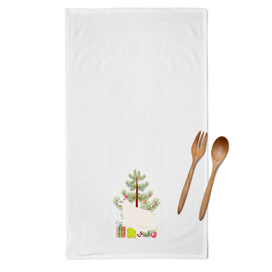 Buy this Texas Quail Christmas White Kitchen Towel Set of 2 BB9324WTKT