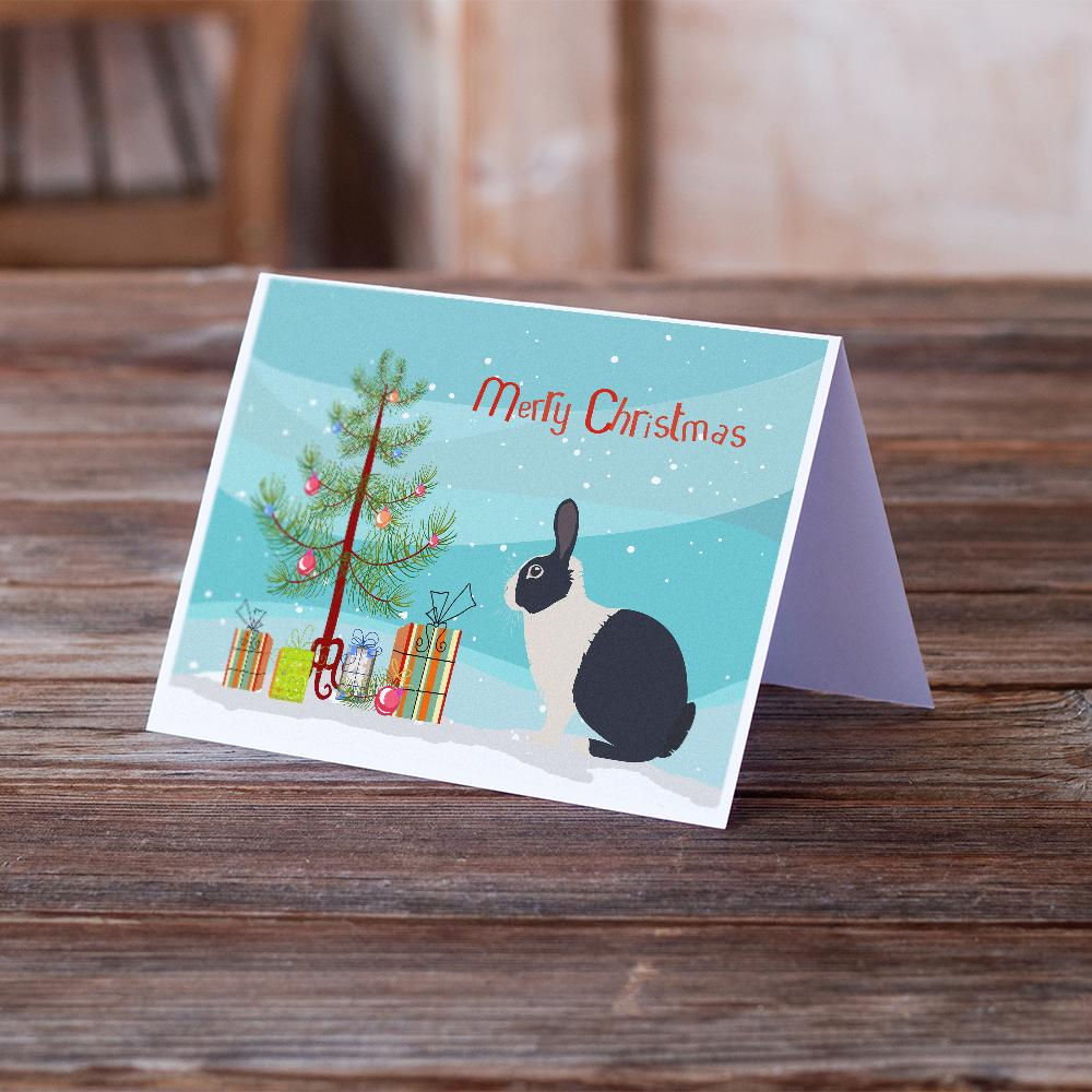 Buy this Dutch Rabbit Christmas Greeting Cards and Envelopes Pack of 8