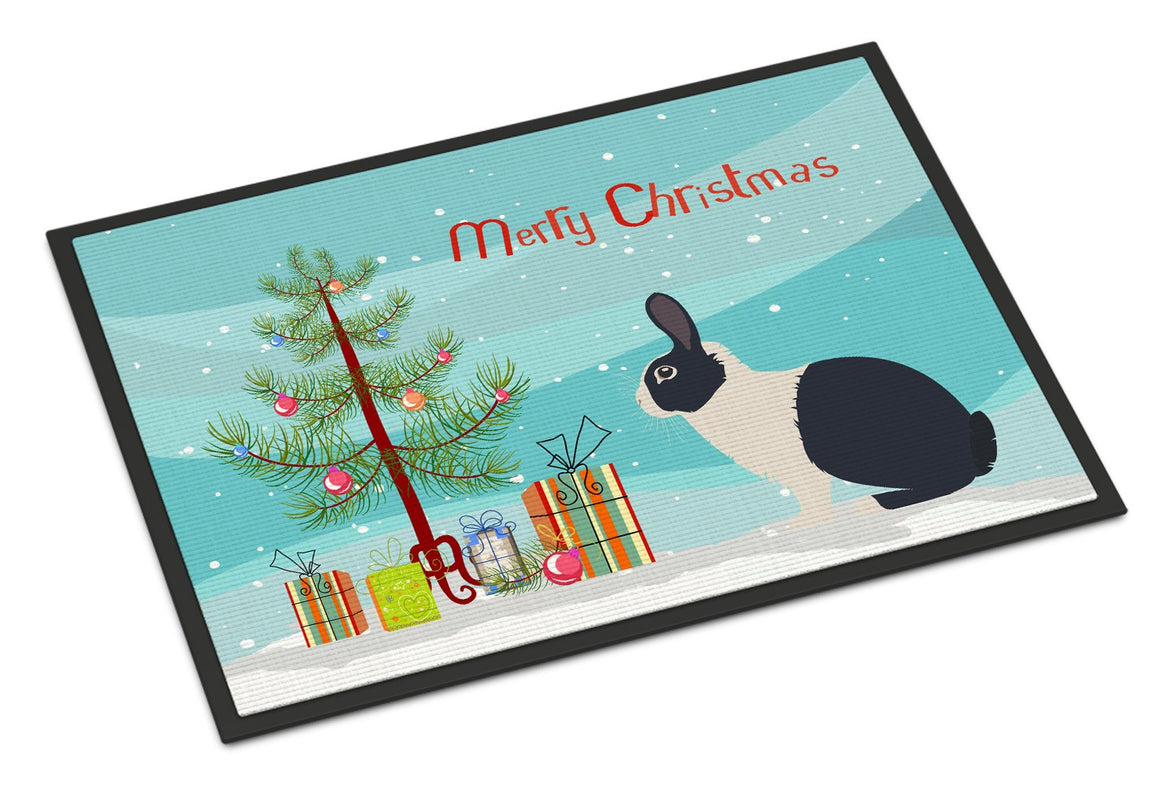 Buy this Dutch Rabbit Christmas Indoor or Outdoor Mat 24x36 BB9325JMAT