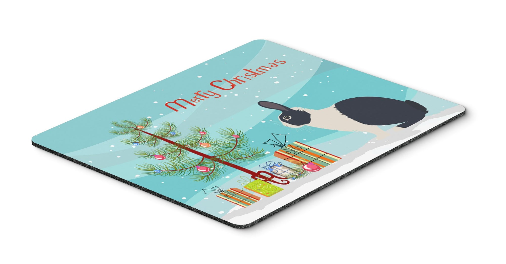 Buy this Dutch Rabbit Christmas Mouse Pad, Hot Pad or Trivet BB9325MP