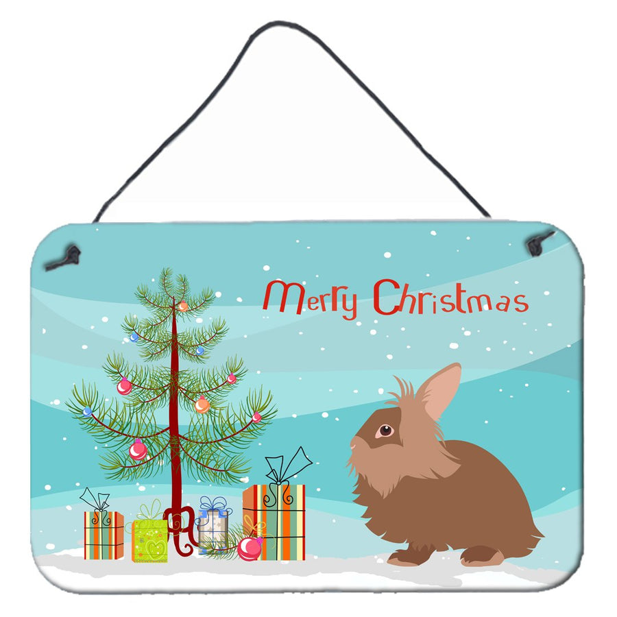 Buy this Lionhead Rabbit Christmas Wall or Door Hanging Prints BB9327DS812
