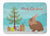 Lionhead Rabbit Christmas Machine Washable Memory Foam Mat BB9327RUG by Caroline's Treasures