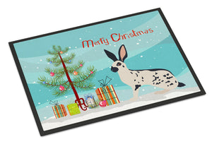 Buy this English Spot Rabbit Christmas Indoor or Outdoor Mat 24x36 BB9328JMAT