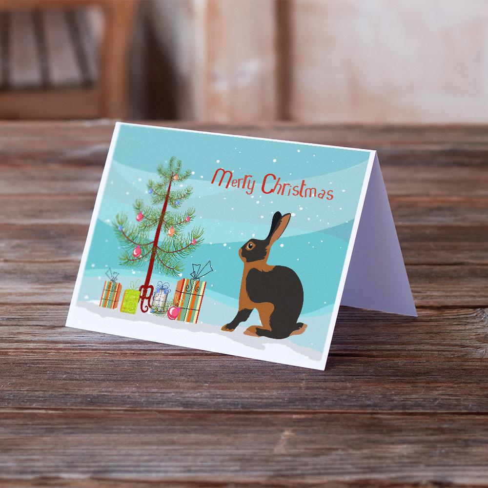 Buy this Tan Rabbit Christmas Greeting Cards and Envelopes Pack of 8
