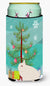 Hermelin Rabbit Christmas Tall Boy Beverage Insulator Hugger BB9331TBC by Caroline's Treasures