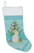 New Zealand White Rabbit Christmas Christmas Stocking BB9332CS by Caroline's Treasures