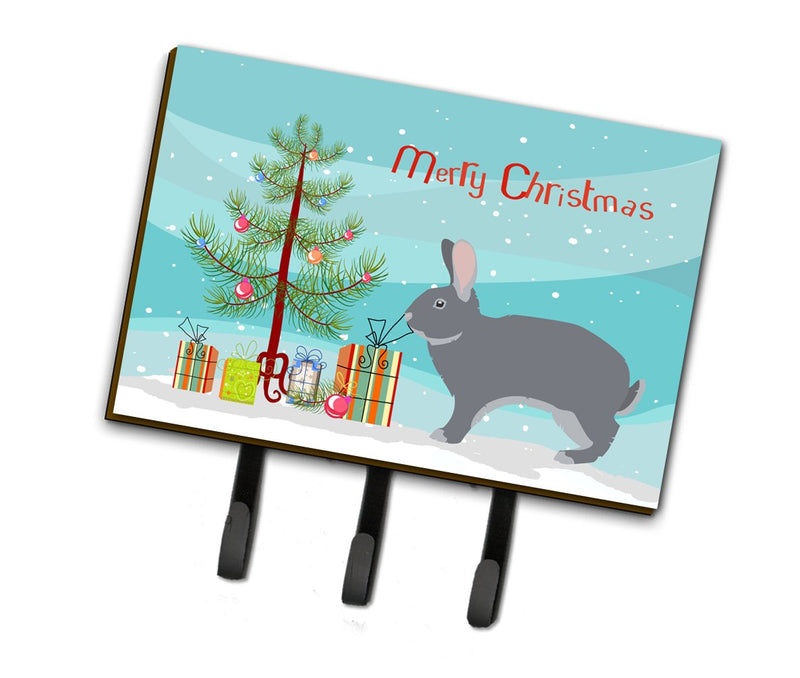 Buy this Giant Chinchilla Rabbit Christmas Leash or Key Holder BB9333TH68
