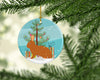 Rex Rabbit Christmas Ceramic Ornament BB9336CO1 by Caroline's Treasures